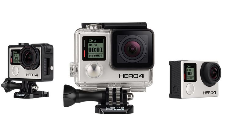 GoPro Hero4-Black 4K Action Camera 3 - Cruz
