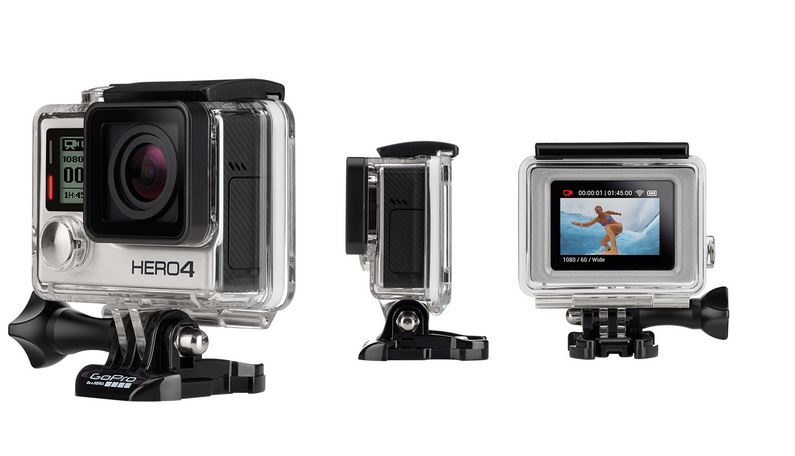 GoPro Hero4-Silver Action Camera 3 - Cruz