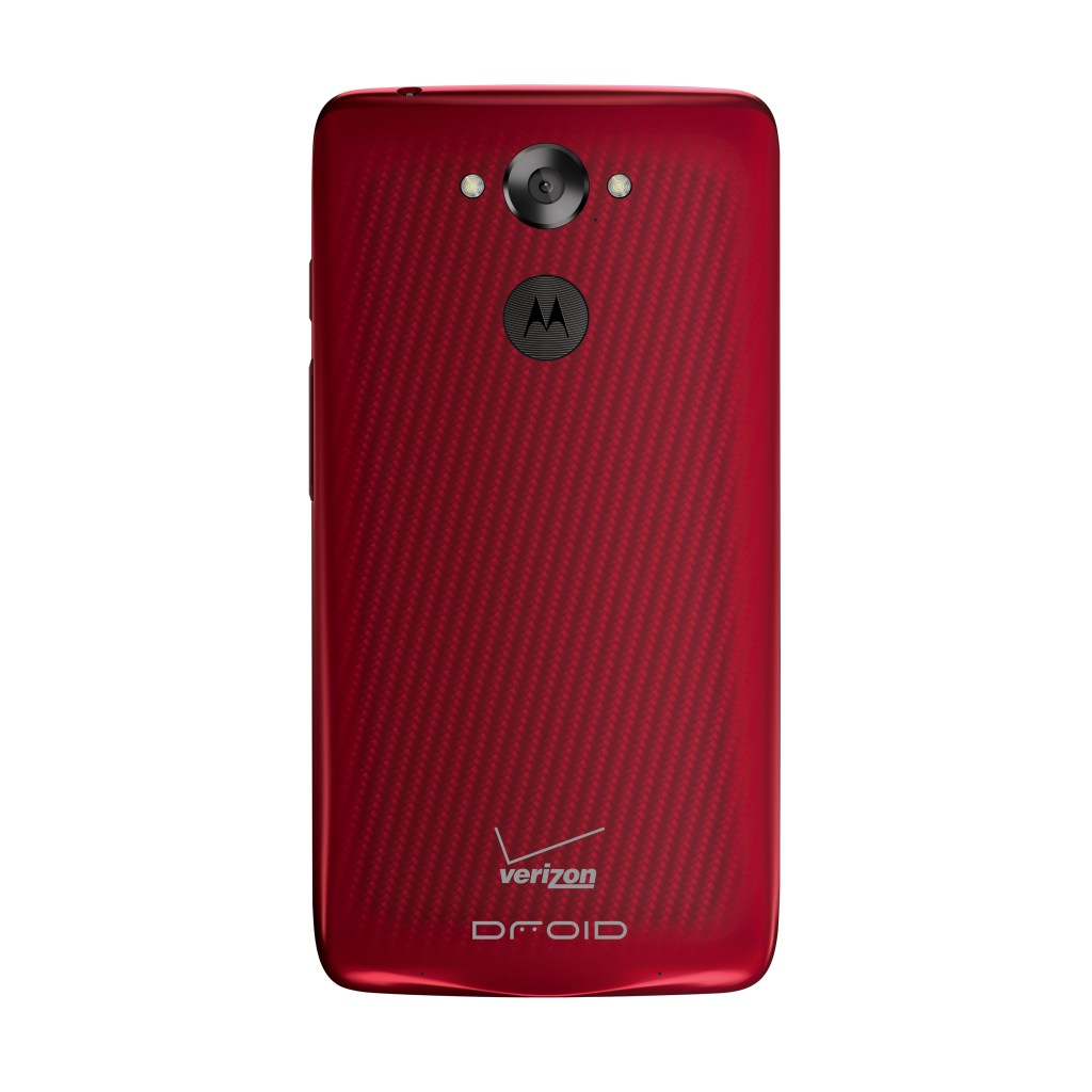 Motorola DROID Turbo Smartphone - Verizon Wireless - Metallic Red -Back - Analie Cruz