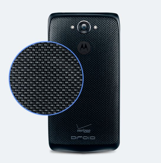 Motorola DROID Turbo - Verizon Wireless - Analie Cruz - Black Ballistic Nylon Texture