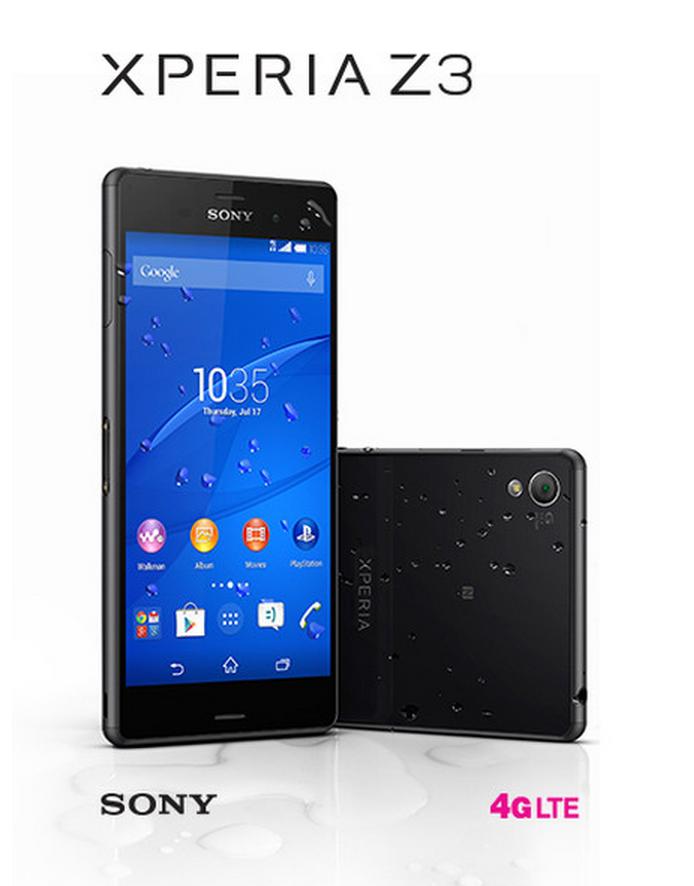 Xperia Z3 T Mobile Sony Xperia Z3 H...