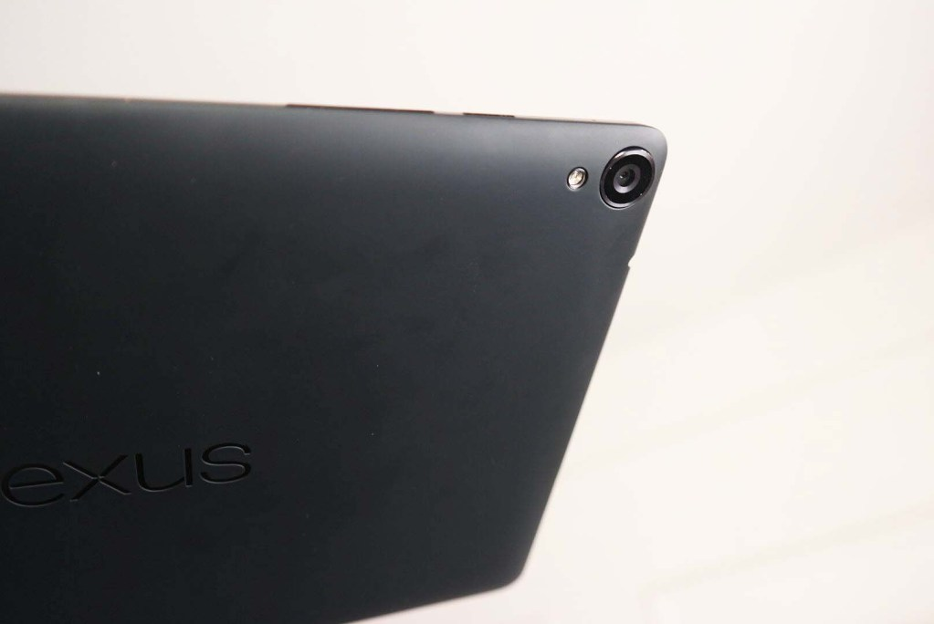 Google Nexus 9 by HTC Tablet Review -  Rear View - Camera