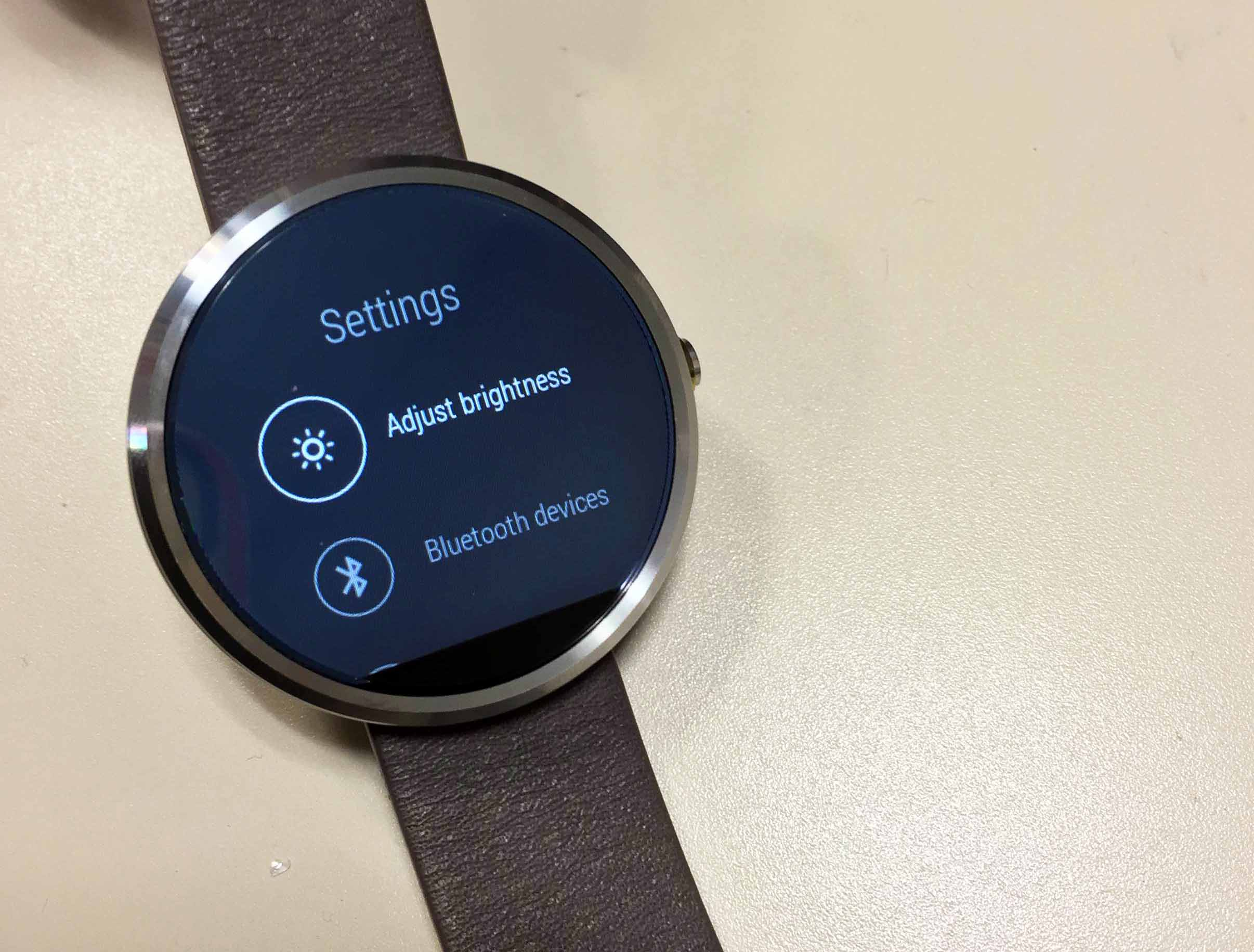 moto android watch. motorola moto 360 review - watch (3) android t