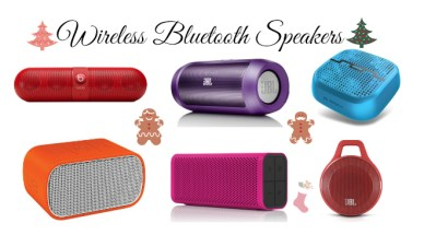 Wireless Bluetooth Speakers - Holiday Gift Guide Analie Cruz