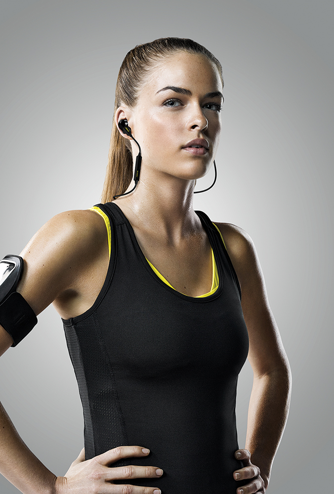 Jabra Sport Pulse Wireless Headphones Available at Best Buy - woman