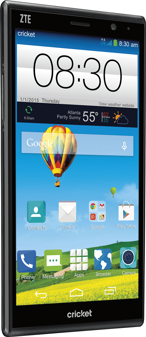 ZTE Grand X Max+ - Cricket Wireless - Cruz