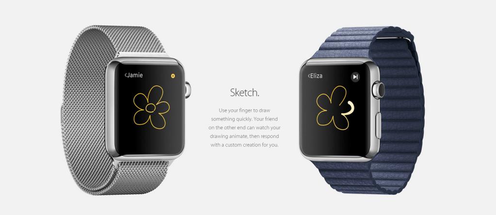 Apple Watch - Sketch - Analie Cruz