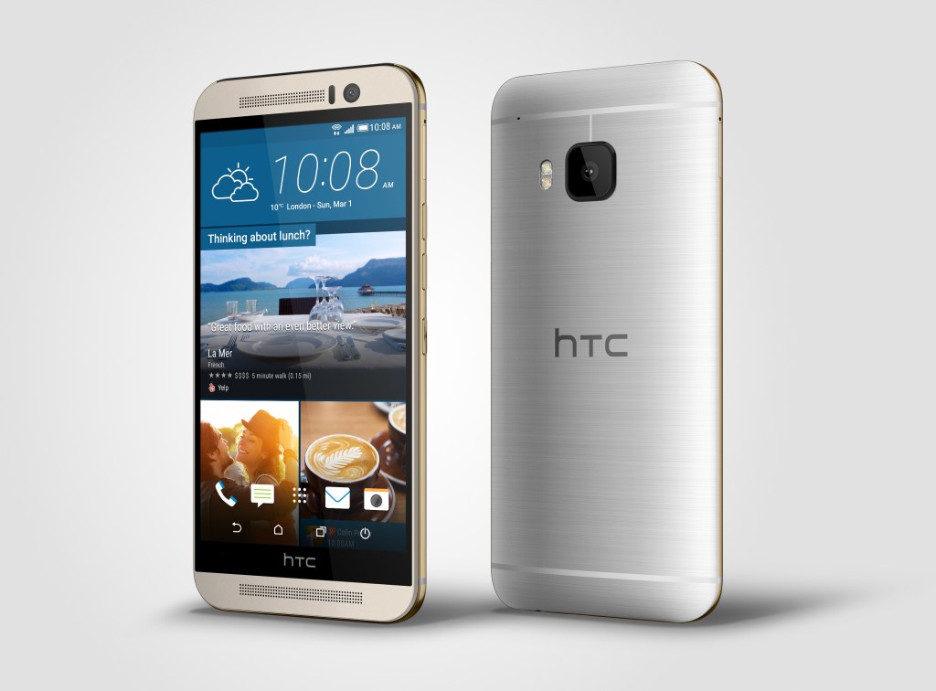 HTC One M9 Silver Left - Analie Cruz