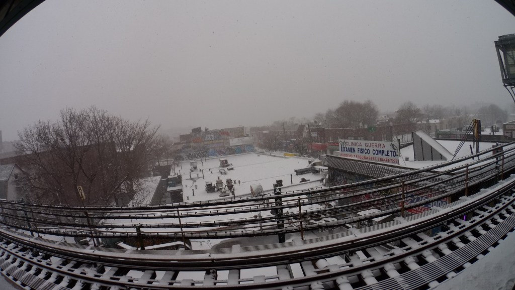 HTC Re Camera Review - Sample Pictures NYC (Snow) (4) Analie Cruz