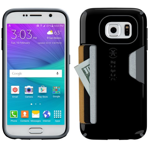 guide the best cases for the samsung galaxy s6 and s6 edge \u2013 galaxys6best cases for samsung galaxys6 speck candyshell card case analie cruz galaxys6 the candyshell card case protects the galaxy s6