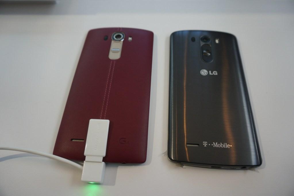 LG G4 - next to LG G3  #LGG4 - Analie Cruz (1)