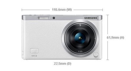 Samsung NX Mini Camera Review - Dimensions - Analie Cruz