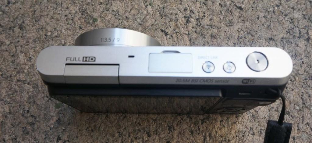 Samsung NX Mini Review - Camera - Top Controls -  Analie Cruz
