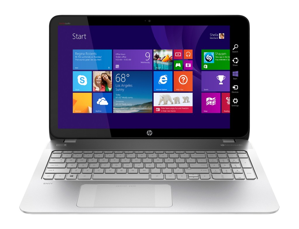 "HP ENVY Touchsmart 15.6""  Laptop at Best Buy #AMDFX Front  - Analie Cruz"